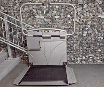 Kosten für Plattformlifte, kurvige Treppe